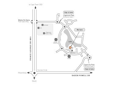direction map